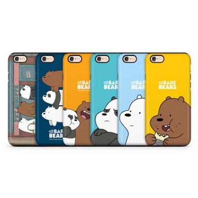 위베어베어스 이중 범퍼 케이스 - 아이폰7 아이폰7플러스 아이폰6 아이폰6플러스