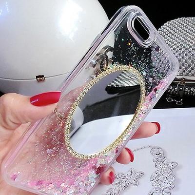 LG G8 ThinQ 러블리 타원거울 글리터 젤리