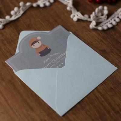 디비디 크리스마스 카드세트 - Cute icon 5종