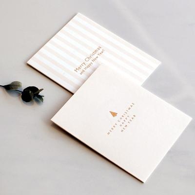 디비디 크리스마스 카드세트 - Mono Stripe