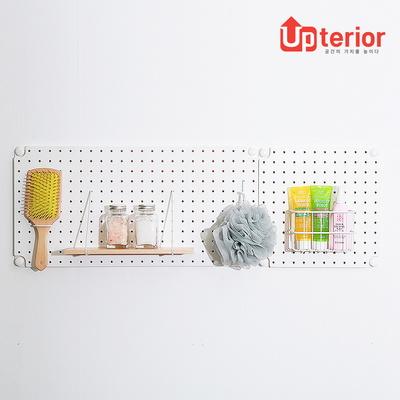 업테리어 타공판 페그보드/타공보드(30*30 3색상)
