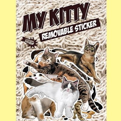 마이키티 고양이 스티커-캐리어스티커