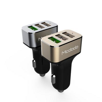 Mcdodo 퀄컴3.0 차량용 3포트 고속 충전기