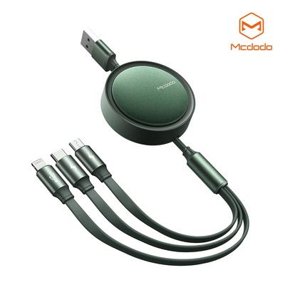 Mcdodo 플렉시블 3 in 1 충전 케이블 (8핀 C타입 5핀)