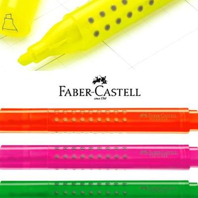 Faber-Castell TEXTLINER 1543 파버카스텔 텍스트라이너 그립 1543 형광펜