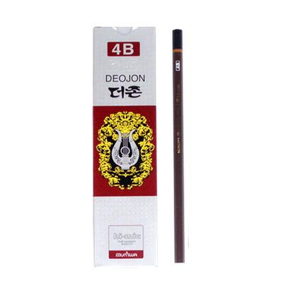 문화 더존연필 4B 연필 1타(12개)