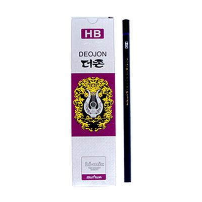문화 더존연필 HB 연필 1타(12개)