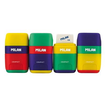 MILAN COMPACT MIX 밀란 컴팩트 믹스 연필깎이+지우개