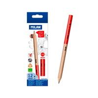 MILAN 밀란 맥시 삼각 연필 (HB 12개)