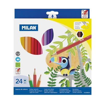 MILAN 밀란 24색 육각 색연필