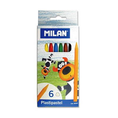MILAN plastipastel 밀란 플라스티 파스텔 6색