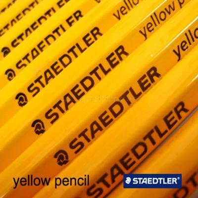 STAEDTLER 스테들러 옐로우펜슬 HB 2B 노랑연필(12개)