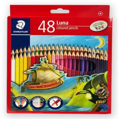 스테들러 루나 색연필 48색 136 C48 TH 연필깎이 포함