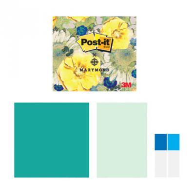 3M 포스트잇 마리몬드 노란장미 디자인팩