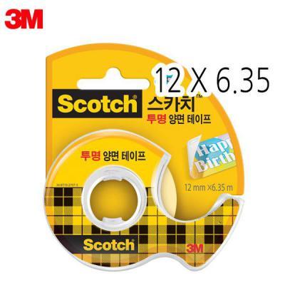 3M 스카치 136 투명양면테이프