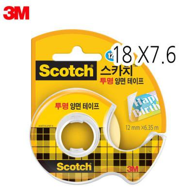 3M 스카치 237 투명양면테이프