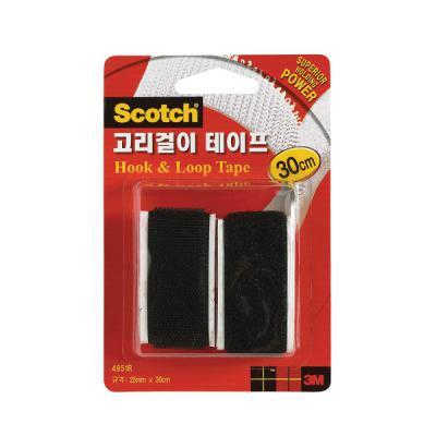 3M 스카치 고리걸이 테이프 30cm 블랙