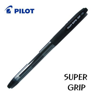 PILOT 슈퍼그립-G 캡식 0.5  0.7  1.0  1.2  1.6mm 빅사이즈 유성볼펜