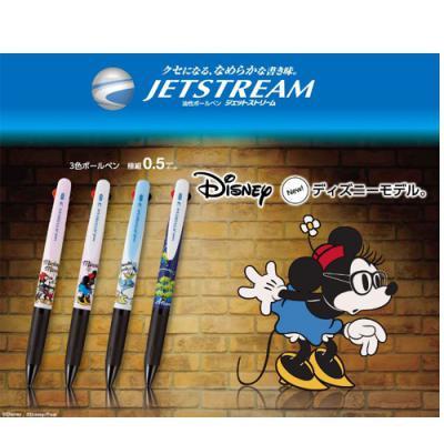 미쯔비시 유니 디즈니/픽사 시리즈 한정판 제트스트림 3색볼펜 SXE3-504D-05