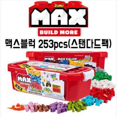 맥스블럭 MAX 253 pcs 블록놀이 레고블럭호환가능