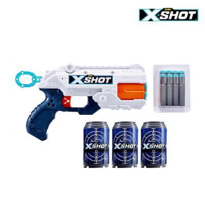 X-SHOT EXCEL 리플렉스 6연발 장난감 총