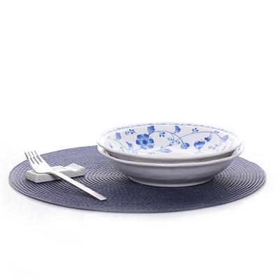 로얄블루 접시
