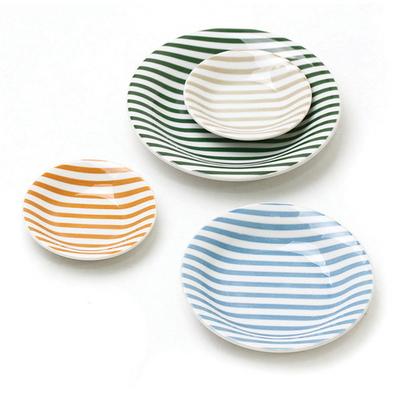 일본산 레인보우 접시세트(3size)