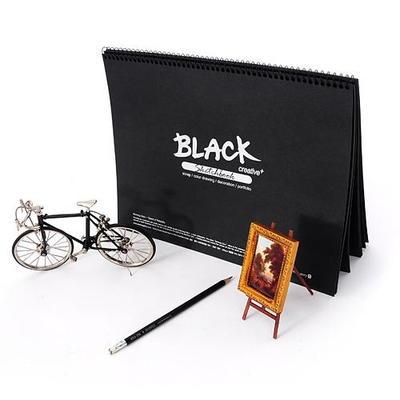5000 블랙스케치북(8절)
