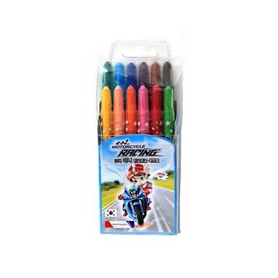 3500 미니 빙글빙글 색연필 (12색/남)