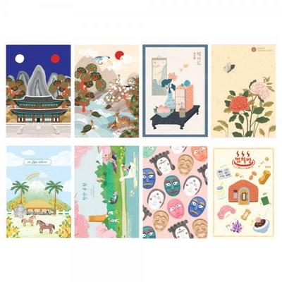 500 엽서 (한국) 2