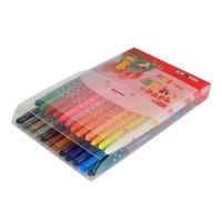 모닝글로리 8000 빙글빙글 색연필 (24색/핑크)