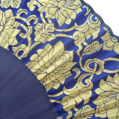 한정수량 1+1 - 예쁜부채-연화문 BLUE