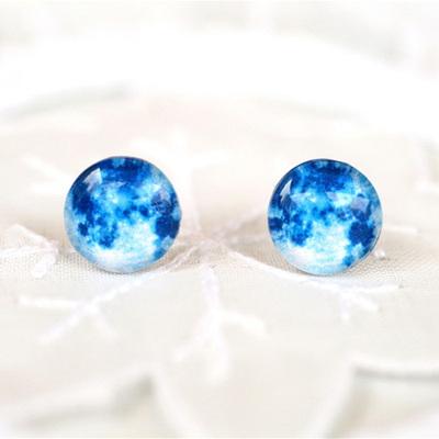 행성귀걸이-Blue Moon