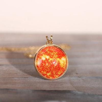 행성목걸이-태양(sun)