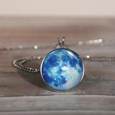 행성목걸이-Blue Moon