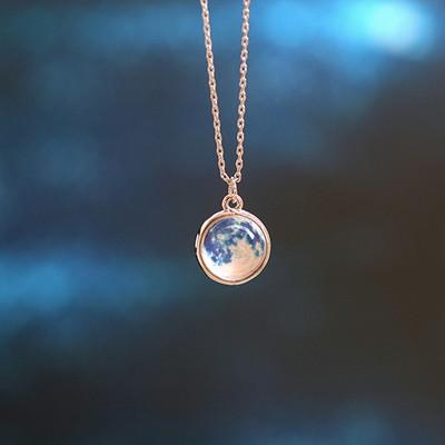 행성목걸이 3th -Blue Moon