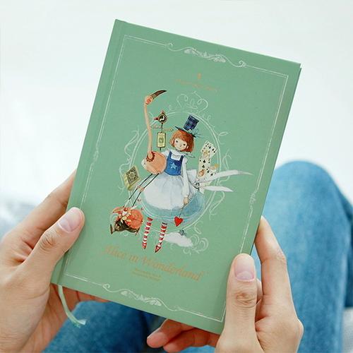 2019 클래식 양장 다이어리-앨리스 (만년형)
