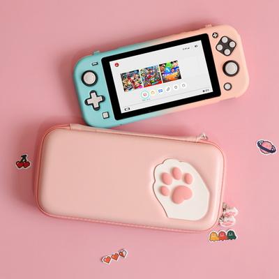 긱쉐어 닌텐도스위치라이트 고양이발 파우치 GS2