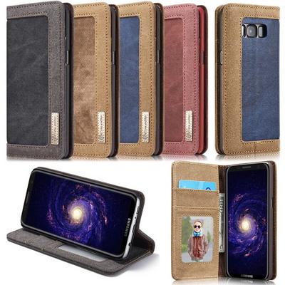 CASEME 아이폰6 7 갤럭시S7 S8 진 플립지갑케이스