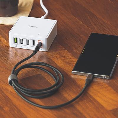 링케 USB PD 퀵차지 3.0 고속멀티충전기 60W