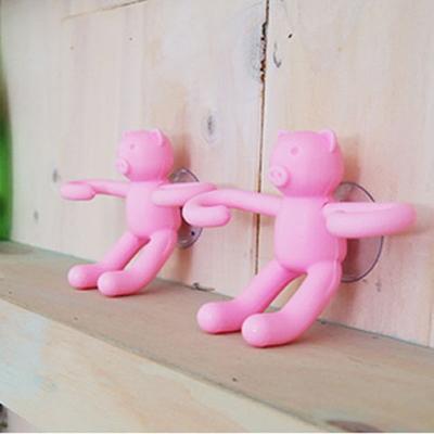 핑크돼지 칫솔꽂이