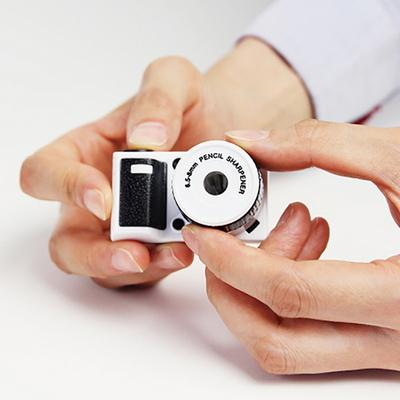 마그넷 카메라 연필깎이 2color