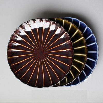 기야망 원형 접시 14.5cm- 3color