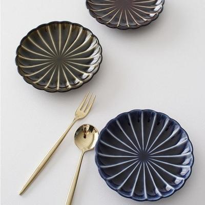 기야망 원형 접시 11cm- 3color