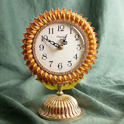 해바라기 탁상시계