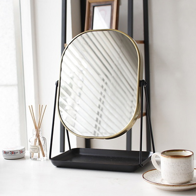 5884 스탠드 트레이 사각 거울