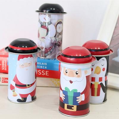 크리스마스 모자 틴박스 15p set
