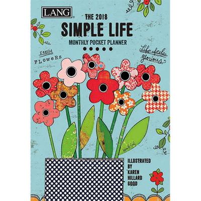 2018 포켓 다이어리 - Simple Life