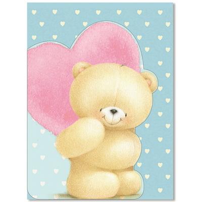 홀마크 곰돌이 축하 감사 카드 5종-KFF1670-1674