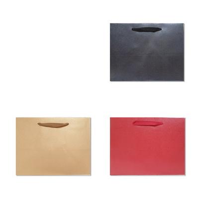 홀마크 단색 무지 쇼핑백(특대-가로형) 3종
